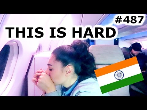 FLYING BUSINESS CLASS TO AMSTERDAM WITH JET AIRWAYS | MUMBAI DAY 487 | INDIA | TRAVEL VLOG IV