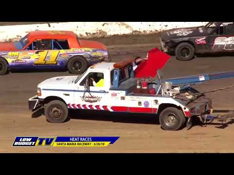 Heat Races: Santa Maria Raceway 5/26/18