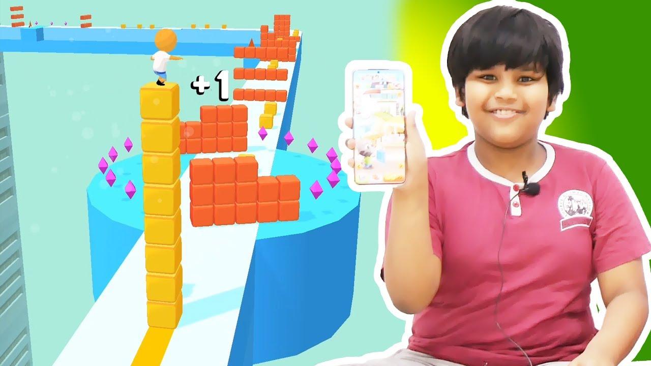 لعبة تكملة مربعات - العاب اندرويد جديد - العاب اطفال جديد | Cube Surfer #2