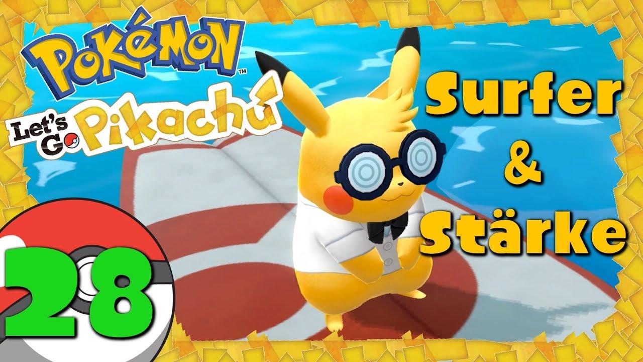 pokemon let 39 s go pikachu 28 surfer st rke im. Black Bedroom Furniture Sets. Home Design Ideas