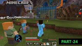 MINECRAFT GAMEPLAY | WORKING ON OUR BASE AND RANDOM PLAYERS BREAK INTO THE SERVER#24