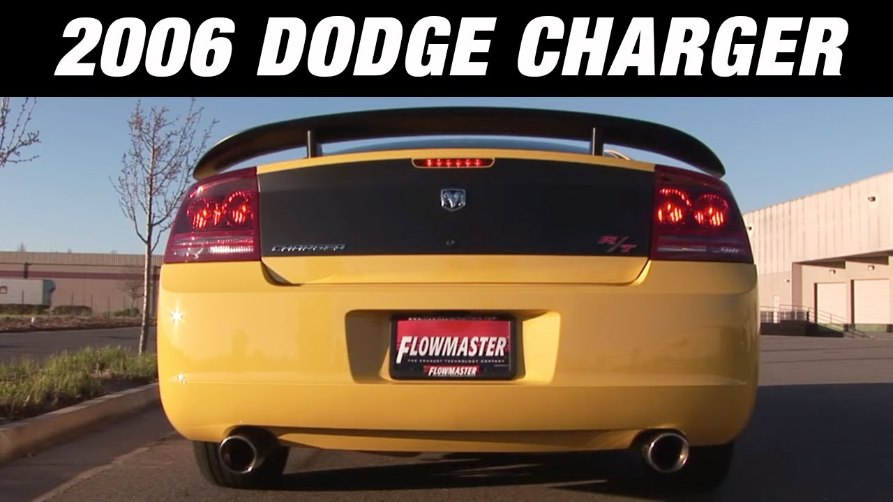 2006 Dodge Charger Hemi With Flowmaster Super 44 Exhaust