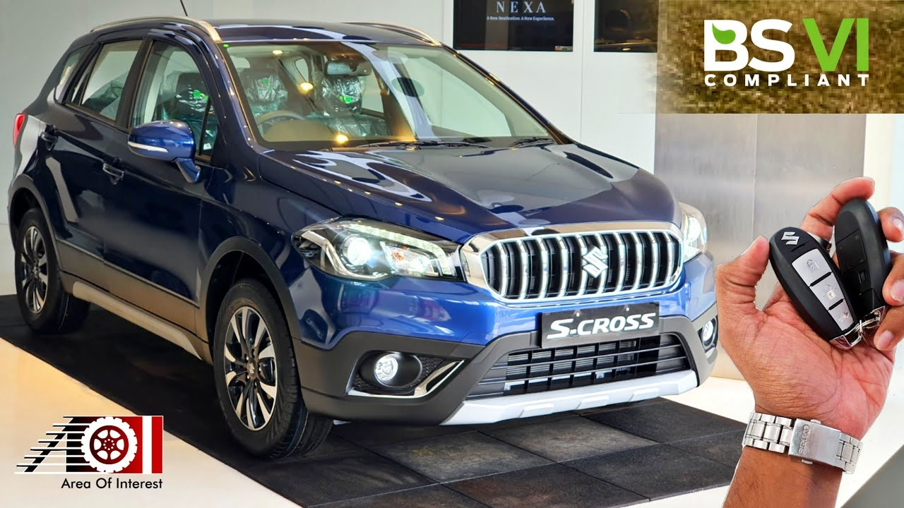 2020 Maruti Suzuki S Cross BS6 Petrol | On Road Price | Mileage | Features | Specs