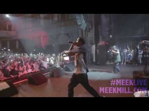 MEEK MILL BRINGS OUT LIL SNUPE - PHILLY VLOG [DREAMS COME TRUE TOUR]