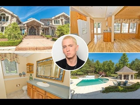 Eminem's Detroit Mansion (Michigan House) is for Sale   Singer gonna lose 2M from this