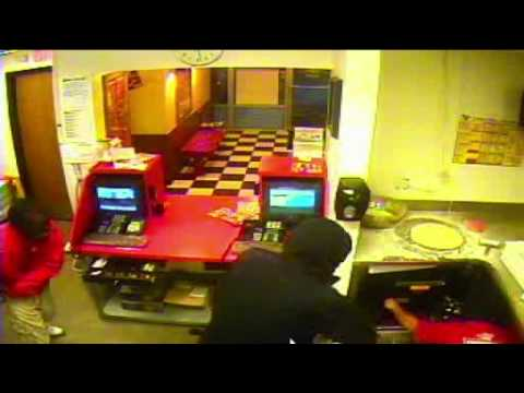 Armed robbery of Tosa Toppers Pizza, USA