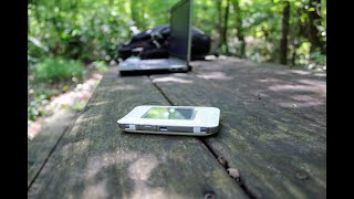 Freedom Pop (AT&T) UNITE Netgear Aircard 770S review for camping and Road-tripping