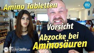 Vorsicht   Abzocke bei Amino Tabletten