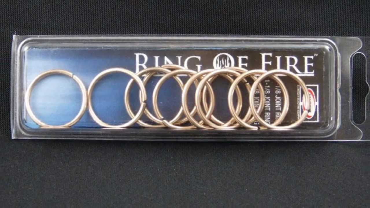 harris ring of fire brazing rings
