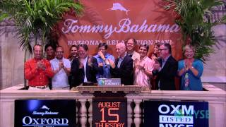 Oxford Industries Celebrates 20th Anniversary of Tommy Bahama