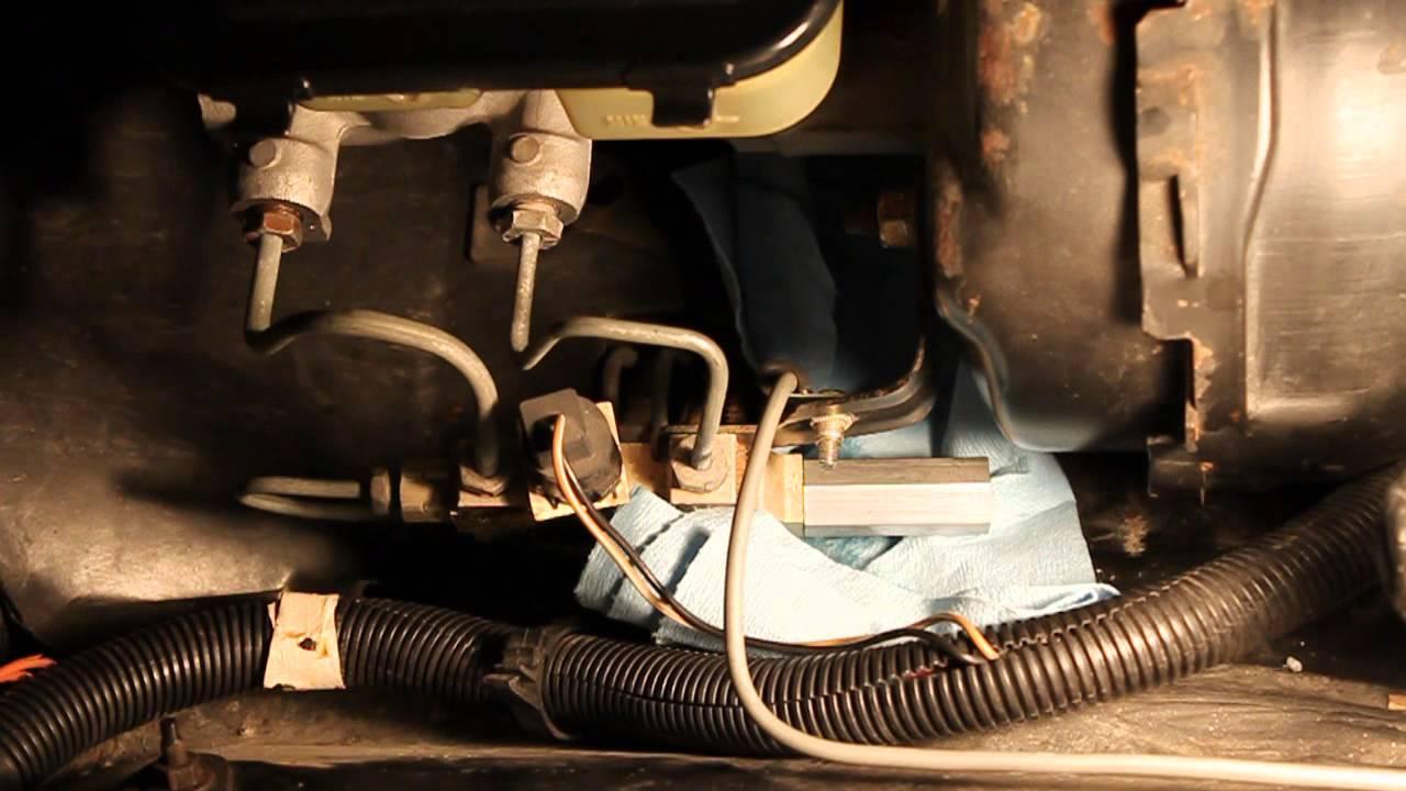 4x4 Wire Diagram Adjustable Brake Proportioning Valve 2 Youtube