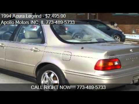 Acura Legend L Dr Sedan For Sale In Chicago IL YouTube - 1994 acura legend for sale