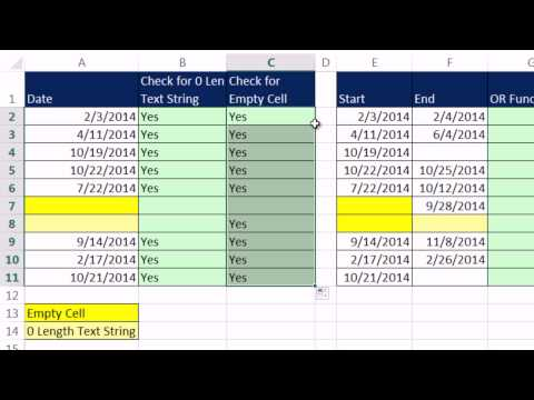 how to use error checking in excel