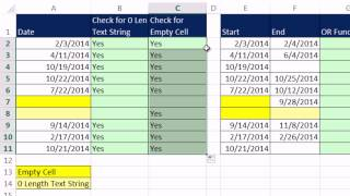 Excel Magic Trick 1155: IF Function: Checking For Empty Cells (5 Methods)