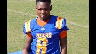 2015 Q Ray - CLAY Bears 12u Football