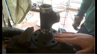 ВНИМАНИЕ!!!!сварщик 6-го разряда покажет как правильно варить!сварка аргоном трубы 57х6мм