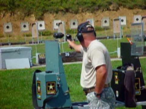 James Henderson Bullseye Pistol Shooting Champion 2009