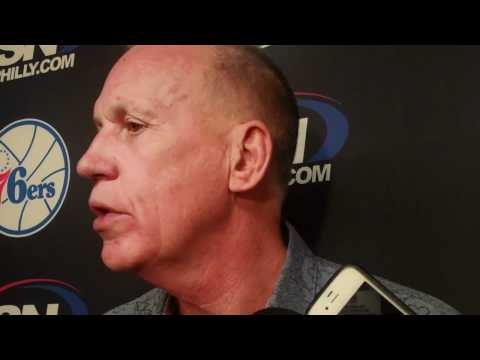DOUG COLLINS ON HIS SON CHRIS BEING READY TO BE HEAD COACH