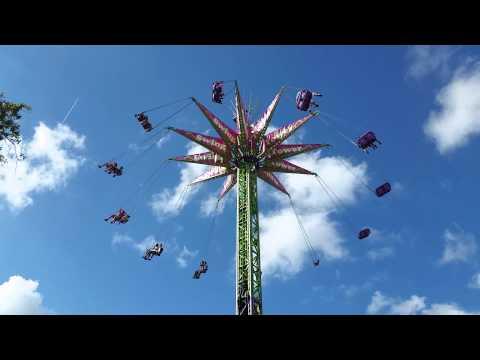 Giant Swing Ride at Fair Miami