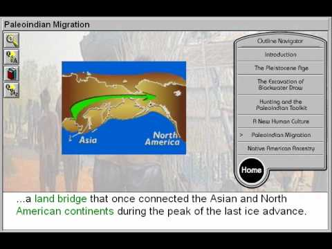 Paleoindian Migration and Native American Ancestry (First Americans: The PaleoIndians Part 6)