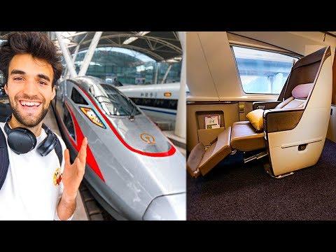 WORLD'S BEST FIRST CLASS BULLET TRAIN SEAT ($29)!