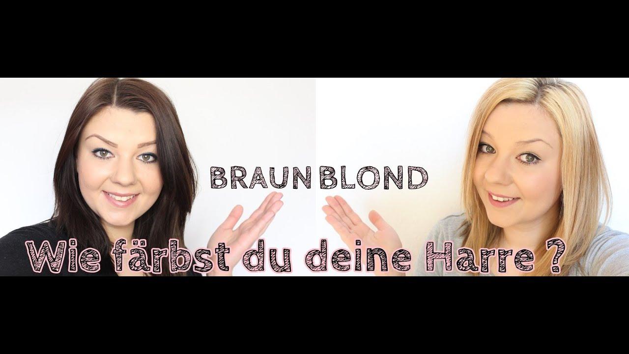 Zu blond braun von ChellsWorld: Blog