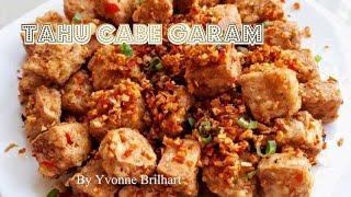 Tahu Cabe Garam Chili And Salt Tofu Spicy Side Dish Vegan Gluten Free Youtube