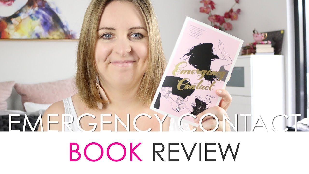 Emergency Contact Review (Blog Tour) - YouTube
