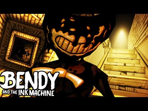 Thumbnail: HACKING INTO NEVER BEFORE SEEN SECRET ROOMS!! | Bendy and the Ink Machine (Hacking + SECRETS)