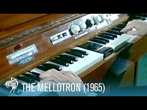 The Mellotron: A Keyboard with the Power of an Orchestra (1965) | British Pathé