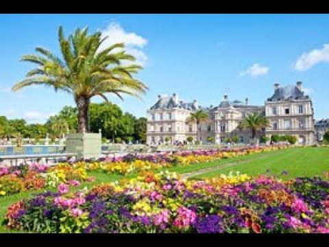 Paris - Le jardin du Luxembourg.