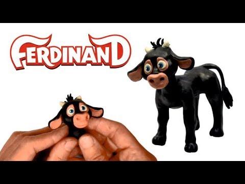 How To Make Ferdinand From Clay ✓ Как слепить Фердинанд из пластилина ➤ Young Ferdinand