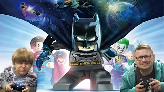 Lego Batman 3 Video Game - Sammie and Dad Having Fun Playing
