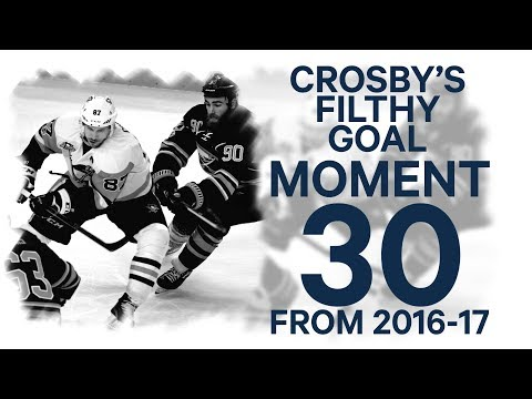 No. 30/100: Crosby's filthy one-handed backhander against Buffalo