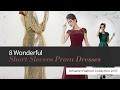 8 Wonderful Short Sleeves Prom Dresses Amazon Fashion Collection 2017