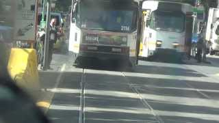 Route 59 (part 2) from Essendon Tram Depot to Elizabeth St Terminus in real time. Australian Trams