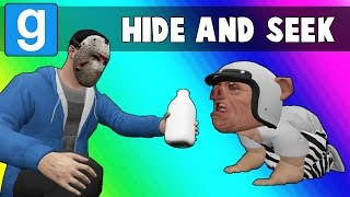 Gmod Hide and Seek: Buff Characters - The Birds vs The Lobster (Garry's Mod)