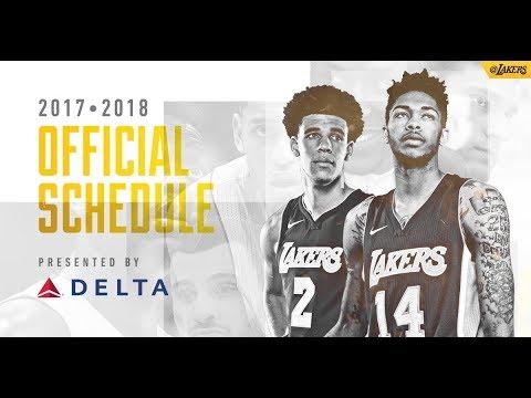 Lakers Reagular season Schedule Drops!! Predicting how many wins!!!