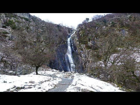 A walk along the Aber Falls path