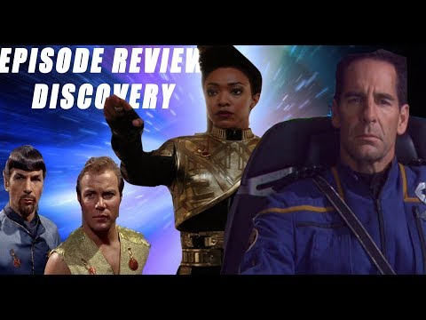 STAR TREK Discovery -  S1 Episode 10 REVIEW ( Despite Yourself )