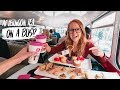 The BEST AFTERNOON TEA in LONDON! - Double Decker Tea Bus 😍(London, England)
