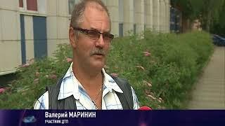 Появилось видео массового ДТП на Московском проспекте