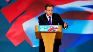 Steve Bell captures David Cameron