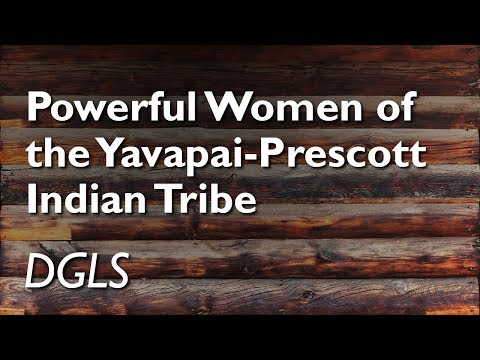 """Powerful Women Of The Yavapai-Prescott Indian Tribe"" With Stephanie Menei (DGLS)"