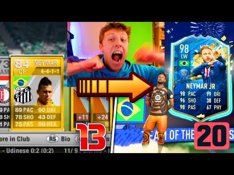 W2S OPENS AN EPIC PACK ON EVERY FIFA 13 - 20