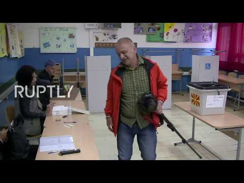 LIVE: Macedonian referendum on country's name change: opening of polls