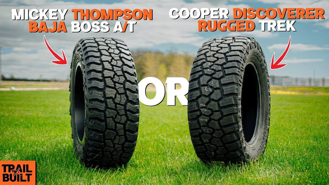 Mickey Thompson Baja Boss vs Cooper Discoverer Rugged Trek