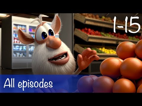 Booba - Compilation of All 15 episodes + Bonus - Cartoon for kids thumbnail