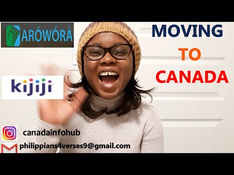 MOVING TO CANADA- Getting Free Items In Canada