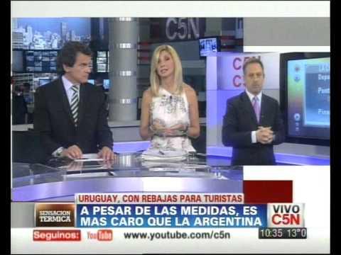 C5N - VIAJES: URUGUAY, CON REBAJAS PARA TURISTAS (PARTE 2)